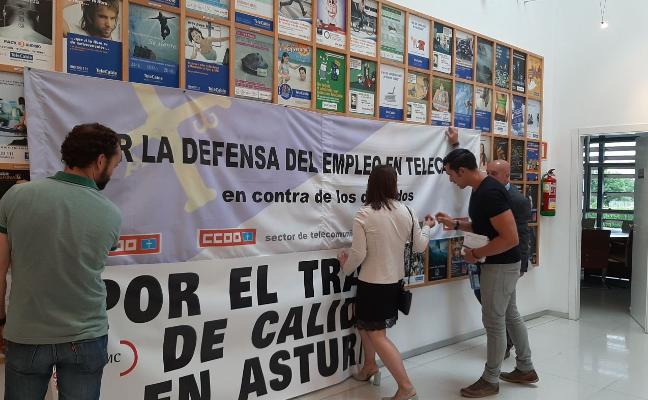 La plantilla de Telecable pide a Euskaltel que dé «por escrito» una garantía de empleo