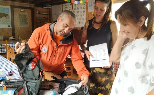 El refugio del Meicín será un centro de primeros auxilios para los accidentes de montaña