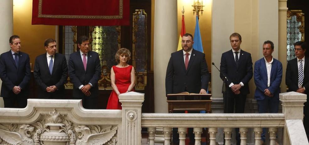 Adrián Barbón, presidente del Principado: «Mi despacho será Asturias entera»