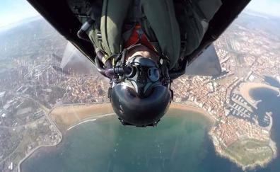 Festival Aéreo de Gijón: «Desde el aire se ve todo verde»