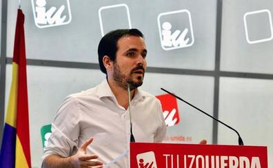 IU aprueba que los militantes decidan en referéndum su posición en la investidura de Sánchez