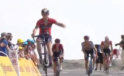 Cortina y Sagan se retan en la cima del Tourmalet