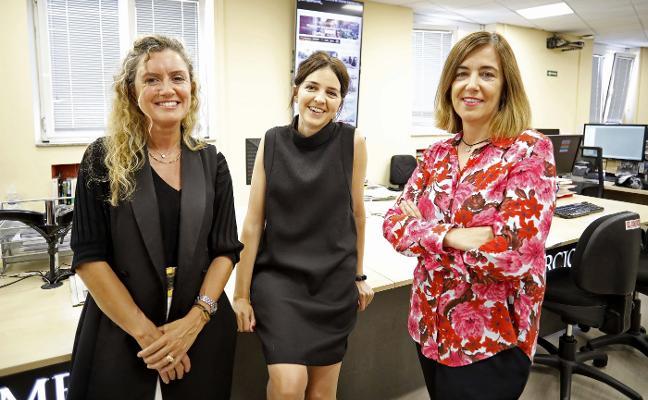 Leticia Álvarez, Laura Fonseca y Ana Fernández, nuevos nombramientos de EL COMERCIO