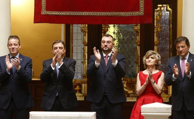 Adrián Barbón, presidente del Principado: «Asturias tiene futuro»
