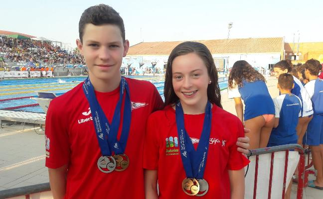 Tercera medalla para Sara Alonso en el Campeonato de España alevín