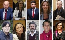 Estos son uno a uno los nuevos consejeros del Gobierno de Asturias