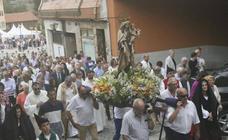 Procesión de la Virgen del Carmen en Pola de Siero