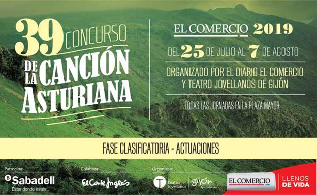 39 Concurso Canción Asturiana EL COMERCIO