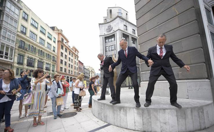 Teatro en la calle en Oviedo