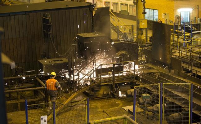 El acero asturiano se libra de los nuevos aranceles impuestos por China a la UE