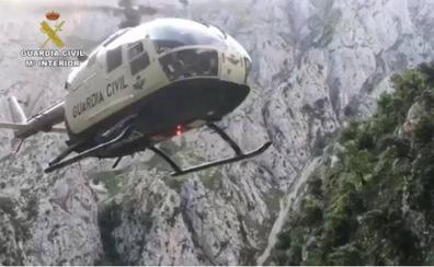 Las imágenes del rescate en Picos de Europa realizado por la Guardia Civil