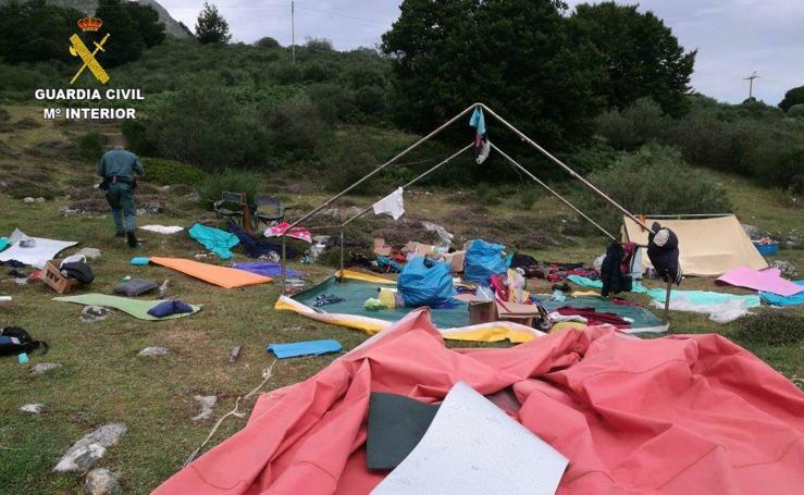 Rescate de 500 niños en Asturias y Castilla y León por las tormentas