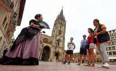 Pleno de turistas en Asturias