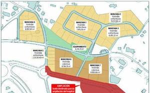 Urbanismo da los últimos pasos para construir 150 pisos y chalés cerca del Hospital de Cabueñes