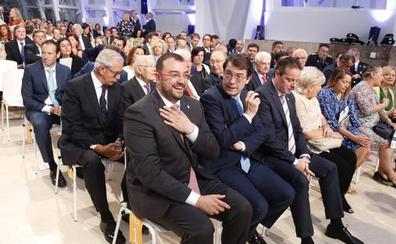 Barbón trabajará «de la mano» con Galicia en los problemas comunes