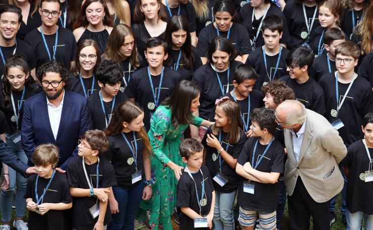 La reina Letizia, en Oviedo