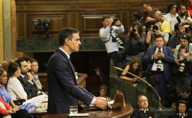 Sánchez: «Elijo mis convicciones y proteger a España»