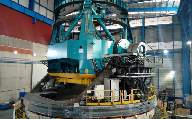 Asturfeito inicia el traslado de la estructura del súper telescopio a la base final en Chile