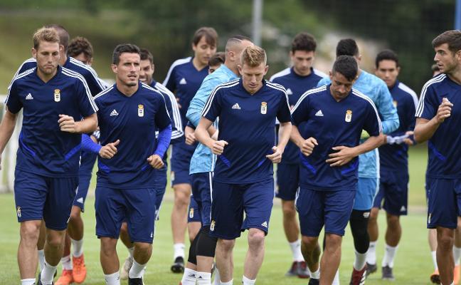 Real Oviedo   Prueba de nivel para los de Sergio Egea
