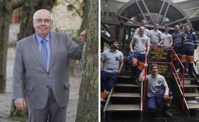 Álvarez Areces y la Brigada de Salvamento Minero, Medalla de Oro de Asturias 2019