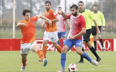 El Sporting B suma ante el Caudal su segunda victoria en la pretemporada