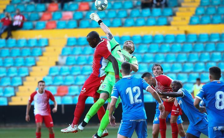 Sporting 1 - 1 Getafe, en imágenes