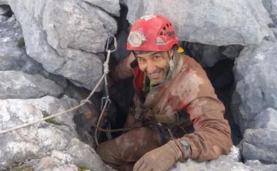 Un «hito» de la espeleología en los Picos de Europa