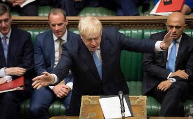 Boris Johnson anuncia a la UE que debe renegociar el acuerdo del 'brexit'