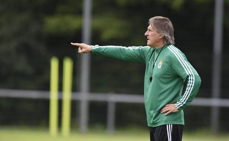 Entrenamiento del Real Oviedo (30-07-2019)