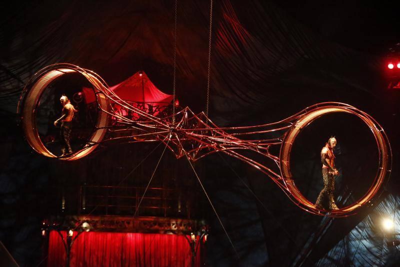 Así es 'Kooza', el espectáculo del Circo del Sol en Gijón