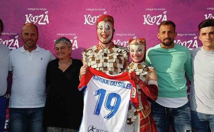 Gran expectación en el estreno de 'Kooza'