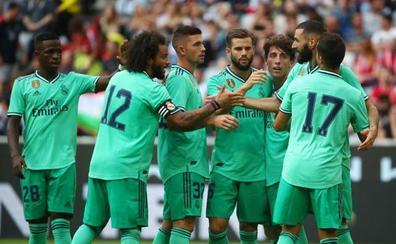 Benzema y Mariano oxigenan al Real Madrid