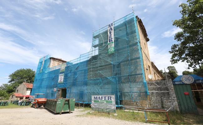 La rehabilitación del palacio de Trasona, en suspenso