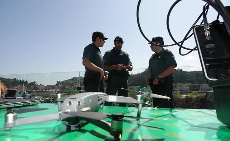 Así son los drones que vigilarán en el Sella