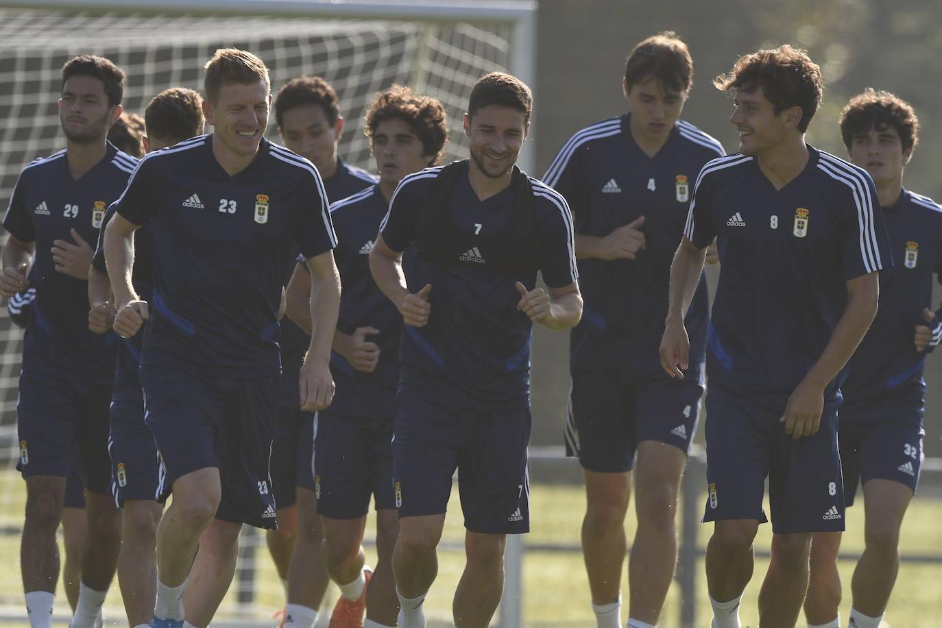 Entrenamiento del Real Oviedo (02-8-19)