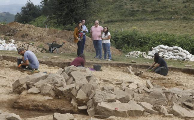 San Martín construirá una cubierta para la excavación del túmulo de L'Españal