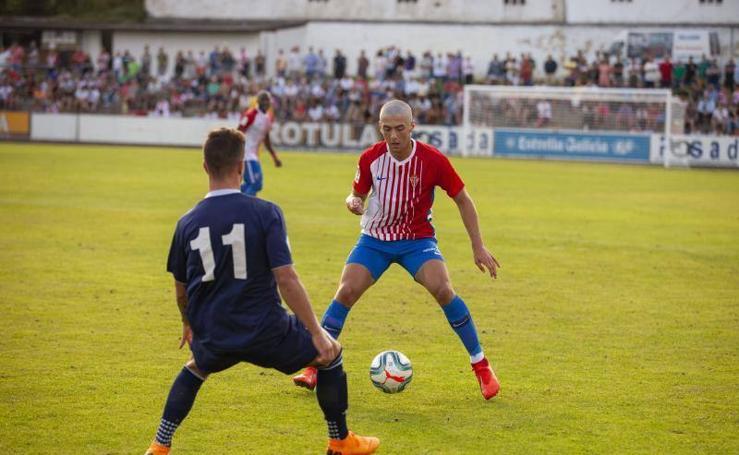 El partido entre el Marino 1 - 1 Sporting, en imágenes