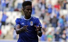 Bárcenas seguirá cedido y se incorporará mañana a los entrenamientos del Real Oviedo