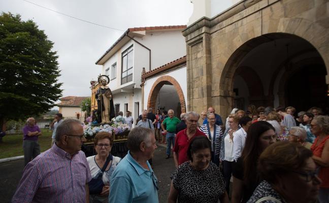 La iglesia de Miranda se llena por Santo Domingo