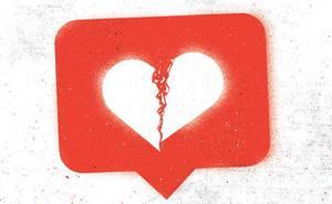 Instagram parte el corazón