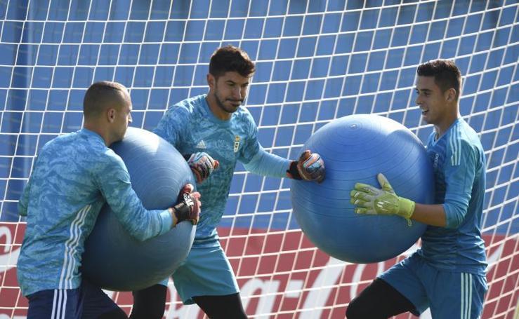 Entrenamiento del Real Oviedo (05/08/19)