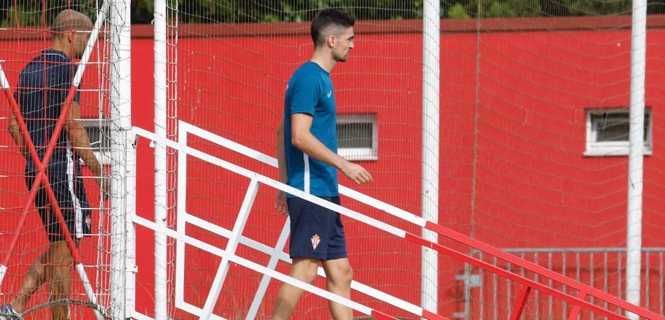 Borja López ya es uno más en el Sporting
