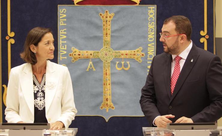 La visita de Reyes Maroto a Asturias, en imágenes