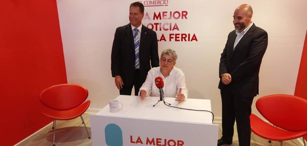 Ana González dice que «el inicio inminente del plan de vías sería la 'Mejor Noticia de la Feria'