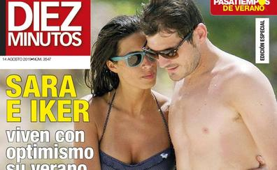 Sara Carbonero e Iker Casillas, su verano más duro