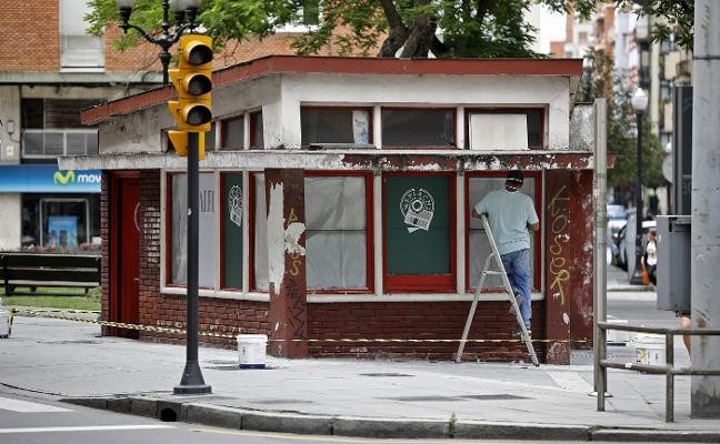 El quiosco de Los Campos volverá a abrir antes de final de año como cafetería