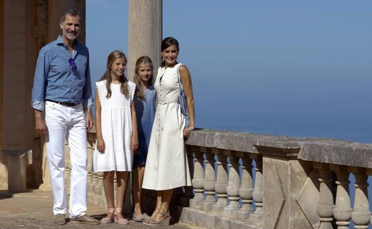 La Familia Real, de excursión en Mallorca