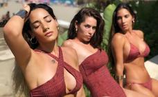India Martínez responde a las críticas por posar en biquini con sus hermanas
