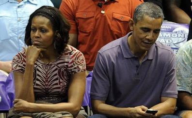 ¿Crisis en el matrimonio Obama?