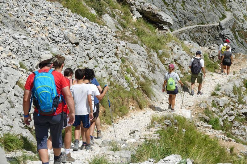 La ruta del Cares, una auténtica 'romería' en verano